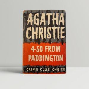 agatha christie 4 50 from paddington 1st ed1