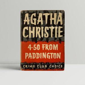 agatha christie 450 from paddington first ed1