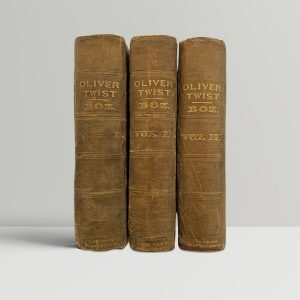 Charles Dickens Oliver Twist First Edition