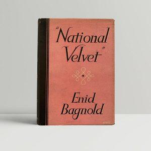 Enid Bagnold National Velvet First Edition