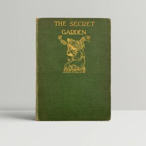 Frances Hodgson Burnett The Secret Garden First Edition