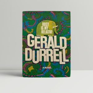 Gerald Durrell Rosy Is My Relative First Edition