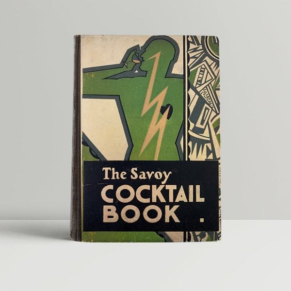 Henry Craddock The Savoy Cocktail Book First Edition