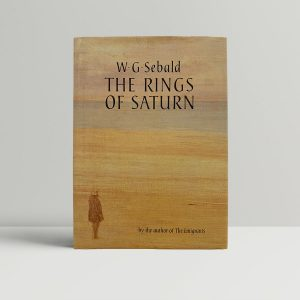 Sebald The Rings Of Saturn First Edition