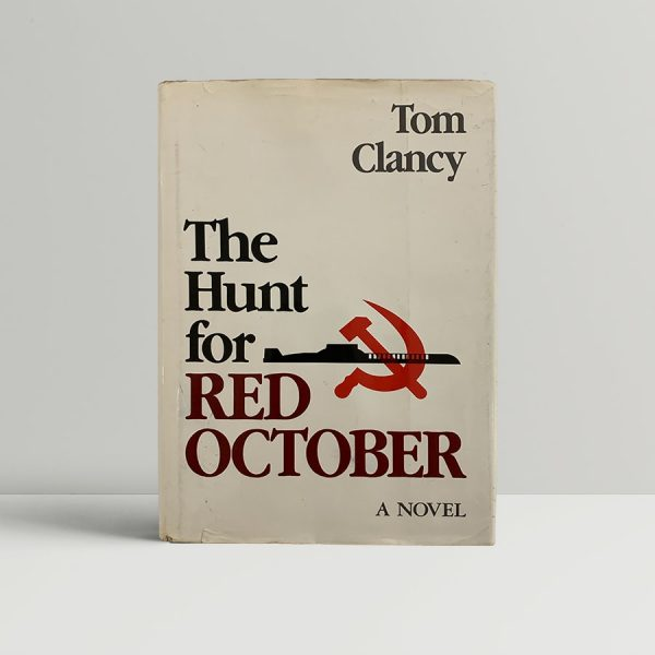 Tom Clancy Hunt For The Red October First Edition