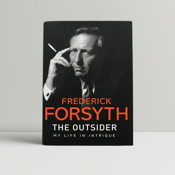 frederick forsyth the outsider first edition 2015 signed