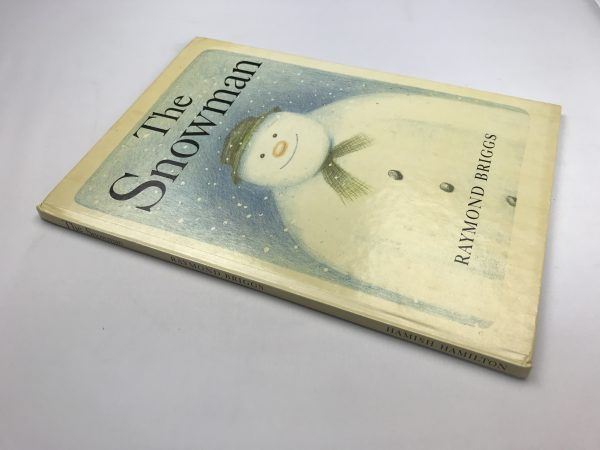raymond briggs the snowman first edition3