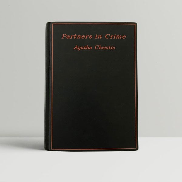 agatha chistie partners in crime first edition1