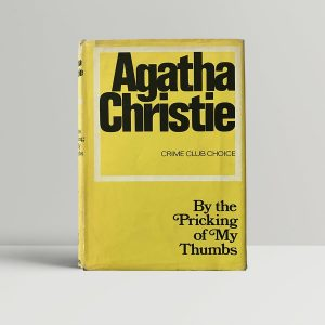 agatha christie by the pricking of my thumbs first edition