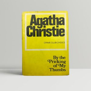 agatha christie by the pricking of my thumbs first edition1