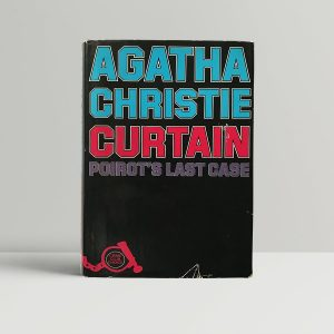agatha christie curtain first uk edition