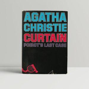 agatha christie curtain first uk edition