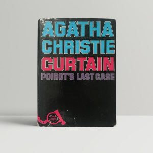 agatha christie curtain first uk edition1