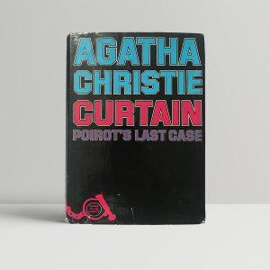 agatha christie curtain first uk edition1
