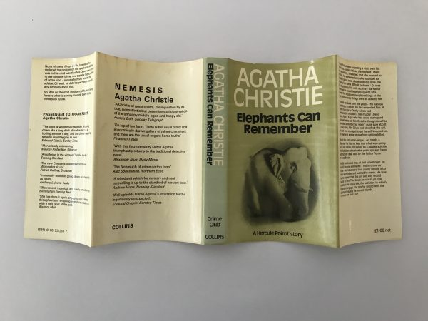 agatha christie elephants can remember first edition4 1