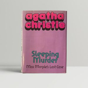agatha christie sleeping murder first uk edition