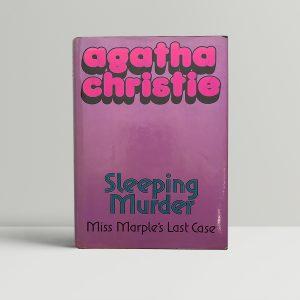 agatha christie sleeping mystery first ed1