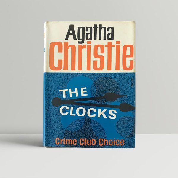 agatha christie the clocks first edition1