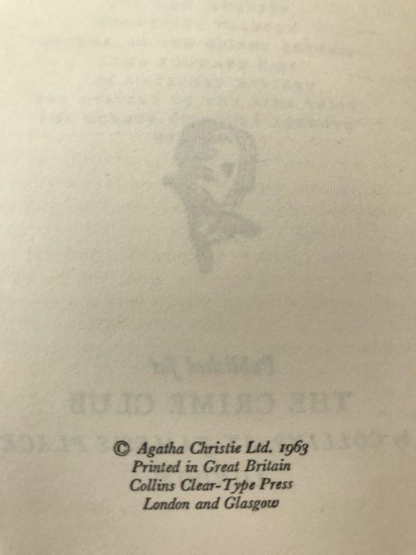 agatha christie the clocks first edition2