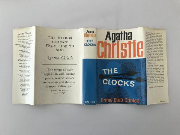 agatha christie the clocks first edition4