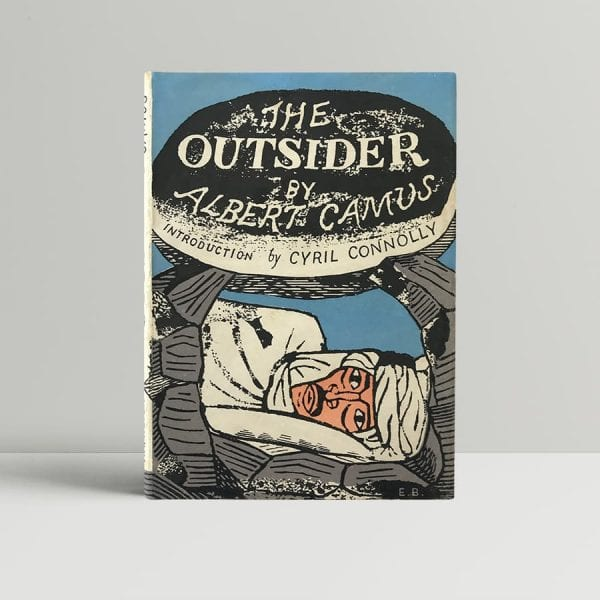 albert camus the outsider first edition1