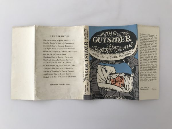 albert camus the outsider first edition4