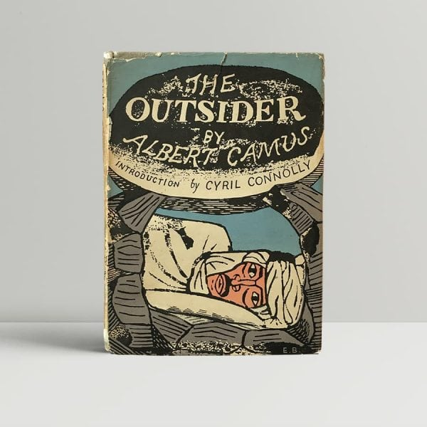 albert camus the outsider first uk edition