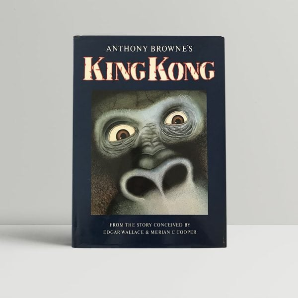 anthony browne king kong signed first edition1