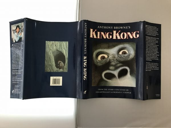 anthony browne king kong signed first edition4