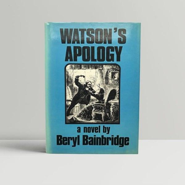 beryl bainbridge watsons apology signed first edition1