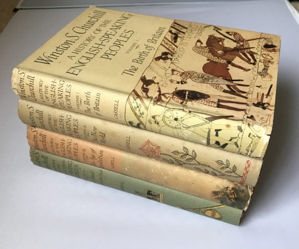 churchill a history of the english speaking peoples first editions2 1