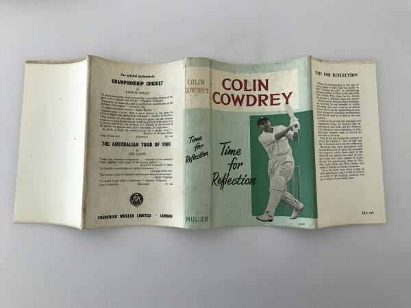 colin cowdrey time for reflection signed first edition5