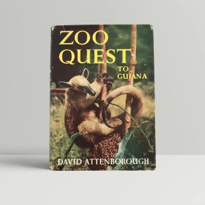 david attenborough zoo quest to guiana first editioon1