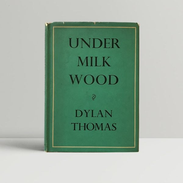 dylan thomas under milk wood first edition375