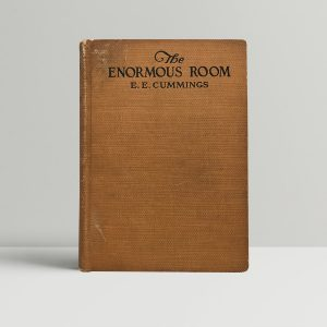 ee cummings the enormous room first edition1