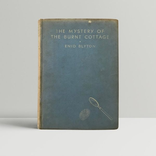 enid blyton the mystery of the burnt cottage first edition