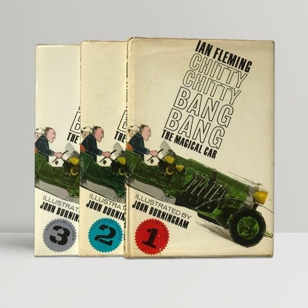fleming chitty chitty bang bang first editions1