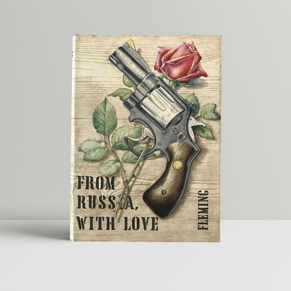 ian fleming from russia with love bookclub edition1