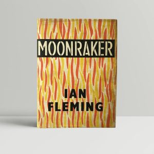 ian fleming moonraker signed roger moore first edition1