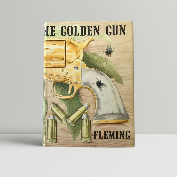 ian fleming the man with the golden gun first edition1