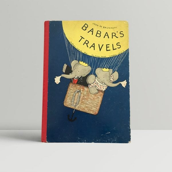 jean de brunhoff babars travels first edition1