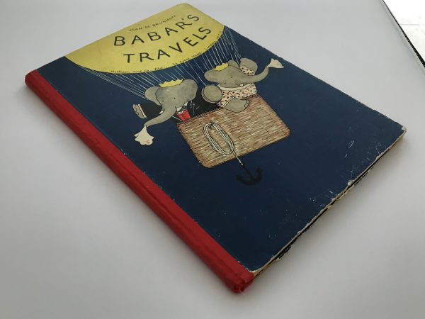 jean de brunhoff babars travels first edition2