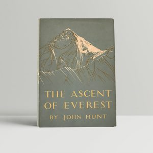 john hunt the ascent of everest first edition1