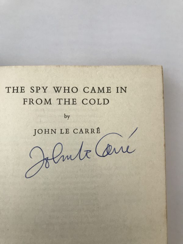john le carre the spy who came in from the cold signed2