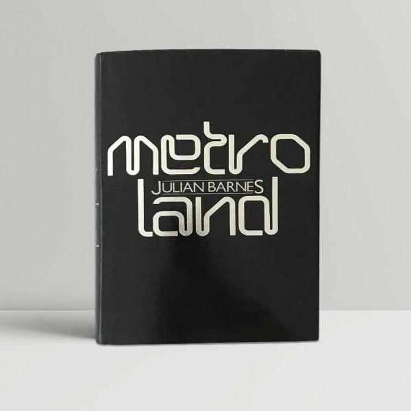 julian barnes metroland first edition1