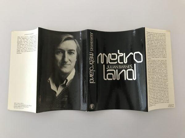 julian barnes metroland first edition4