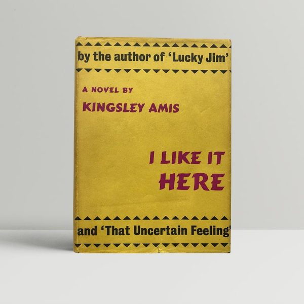 kingsley amis i like it here first edition1