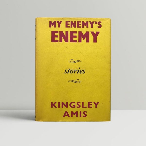 kingsley amis my enemys enemy first edition1