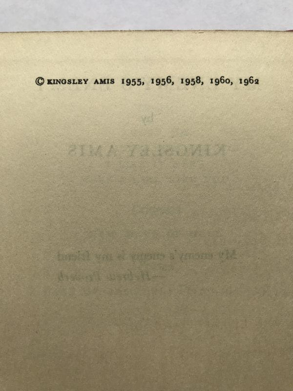 kingsley amis my enemys enemy first edition2