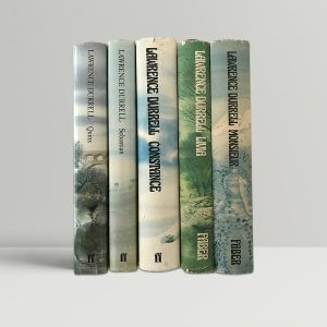 lawrence durrell the avignon quintet signed first edition set1